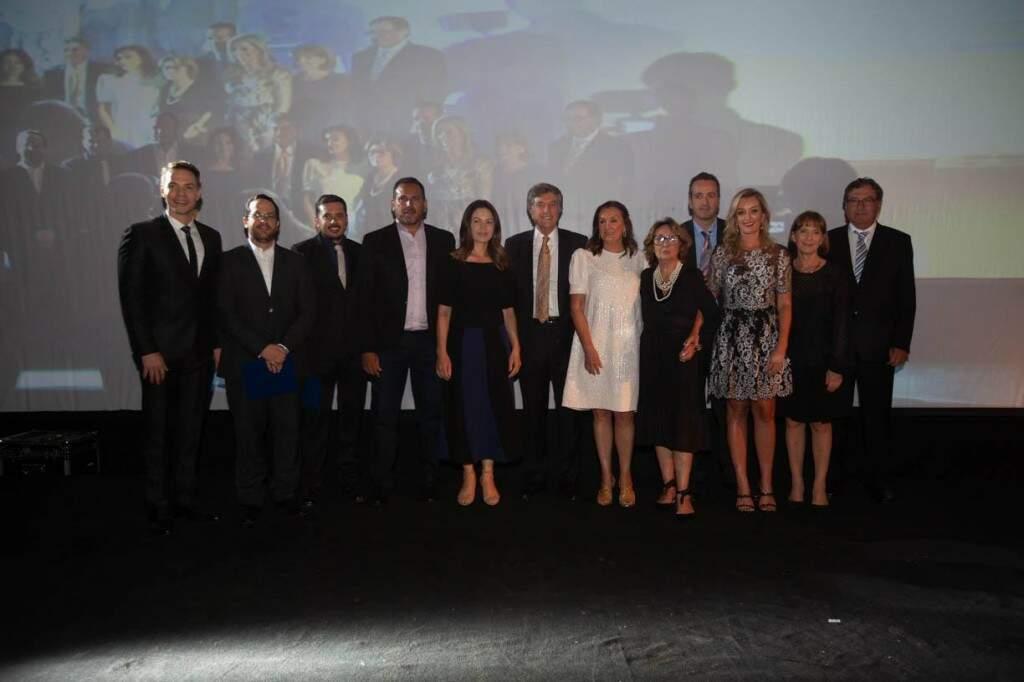 Em noite de gala, Reitores e Pró-reitores da UNIGRAN Capital são homenageados (Foto: Unigran Capital)