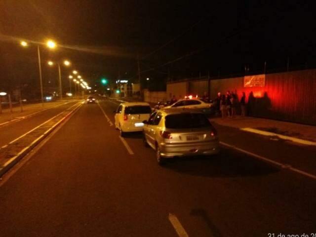 Blitz foi realizada na Avenida Fábio Zahran, na Vila Carvalho. (Foto: Divulgação/BPTran)