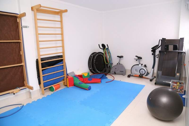 As salas foram projetadas para atender as atividades de acompanhamento da síndrome. (Foto: Marcos Ermínio)