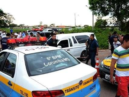 Taxista é morto a golpe de faca no pescoço durante corrida agendada