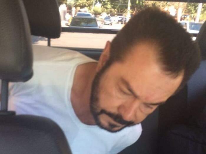 Luiz Carlo da Rocha foi preso sábado em Sorriso, no Mato Grosso (Foto: Divulgação/PF)