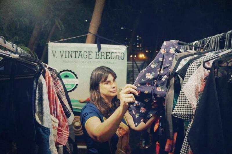 Val Reis do V. Vintage Brechó, que estará no casório