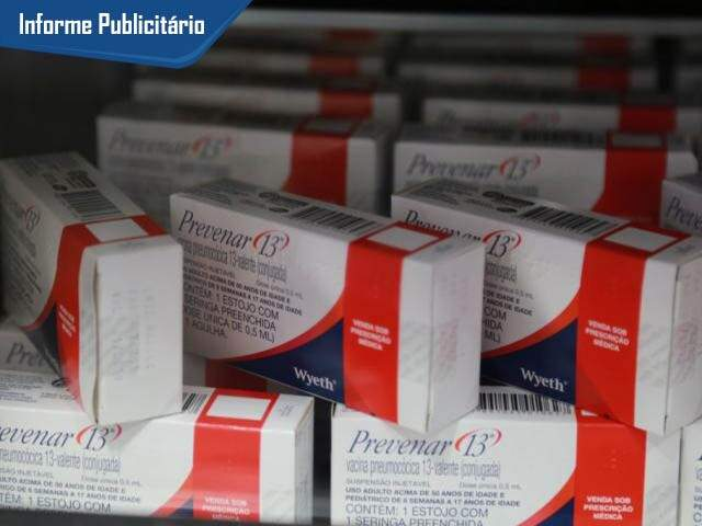 Dose da Prevenar 13 dá direito a vacinação contra agripe.