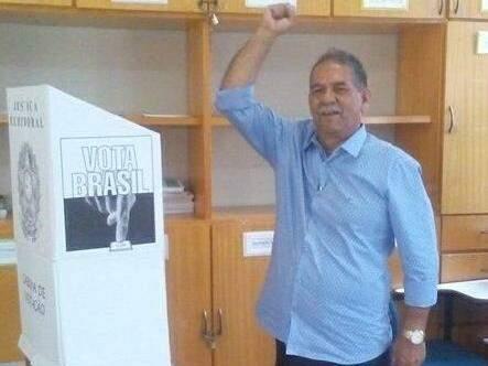 Candidato Chico Gimenez, do PMDB  (Foto: Tião Prado)