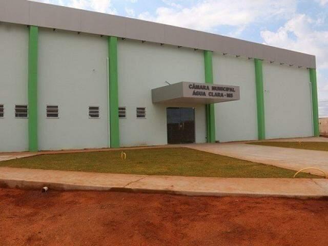 Auditoria feita pelo TCE na Câmara Municipal de Água Clara é referente ao exercício de 2016 (Foto: Divulgação/MPE)