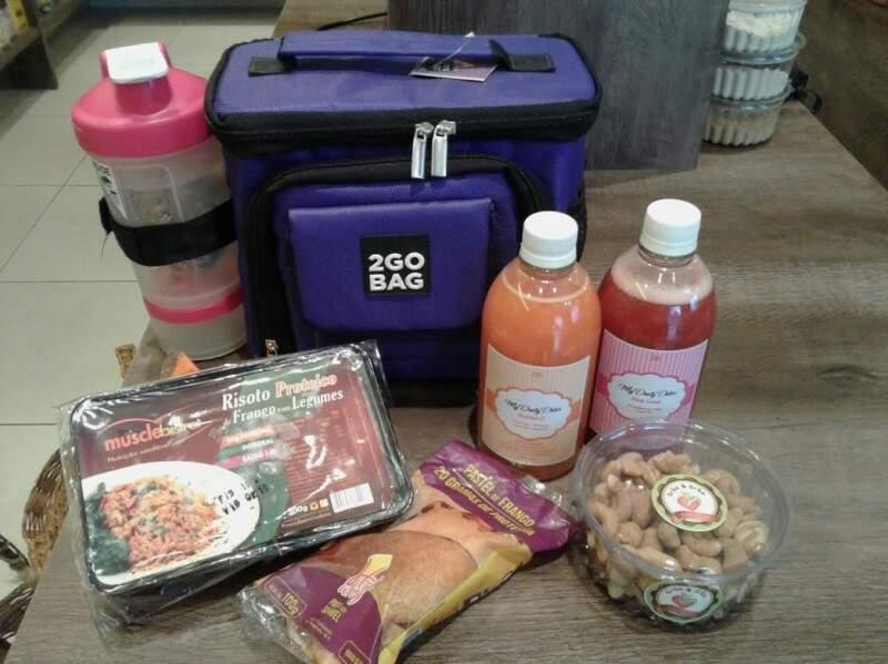 Entre as novidades estão os sucos detox, as refeições prontas da Muscle Bistrot e as bolsas térmicas.