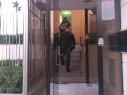 Ex-governador, André Puccinelli é levado para a sede da Polícia Federal