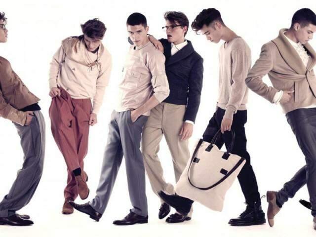 Antenados na moda, fashionistas dão um show de personalidade. (Foto: Reprodução/Homens com Estilo)