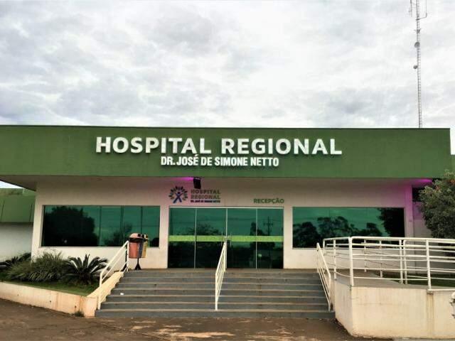 Hospital Regional de Ponta Porã foi o primeiro a ser entregue para gestão de organização social no Estado (Foto: Divulgação)
