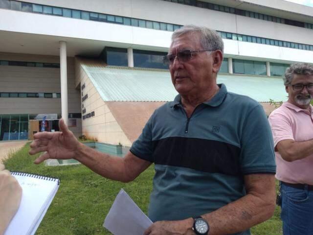 Presidente do Sindicado dos Empregados do Comércio, Idelmar da Mota Lima. (Foto: Kerolyn Araújo)