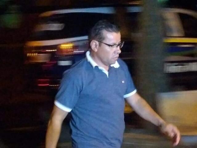 Vereador Pedro Pepa no dia em que foi preso durante Operação Cifra Negra (Foto: Adilson Domingos/Arquivo)