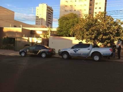 Polícia Federal faz operação contra quadrilha de golpistas na Capital