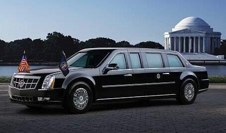 """A Besta"", a limousine blindada que transporta Obama"
