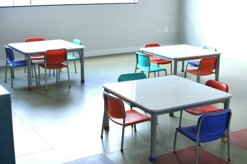 Sala de aula...