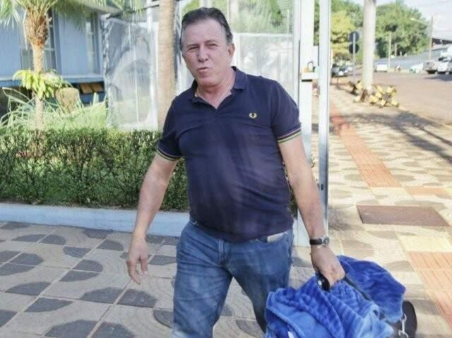 Giroto voltou à prisão em 8 de maio, ao lado de outros investigados na Lama Asfáltica. (Foto: Fernando Antunes/Arquivo)