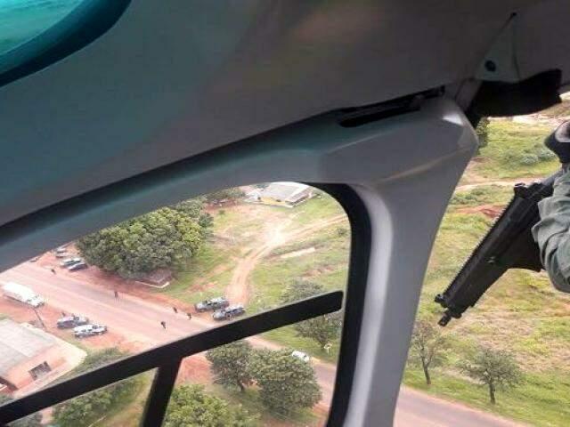 Polícia faz ronda na faixa de fronteira com o Paraguai: uma tonelada de droga apreendida por dia. ( Foto: Divulgação)
