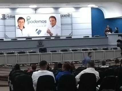 Podemos fecha aliança com PDT, mas descarta candidatura de Chico Maia