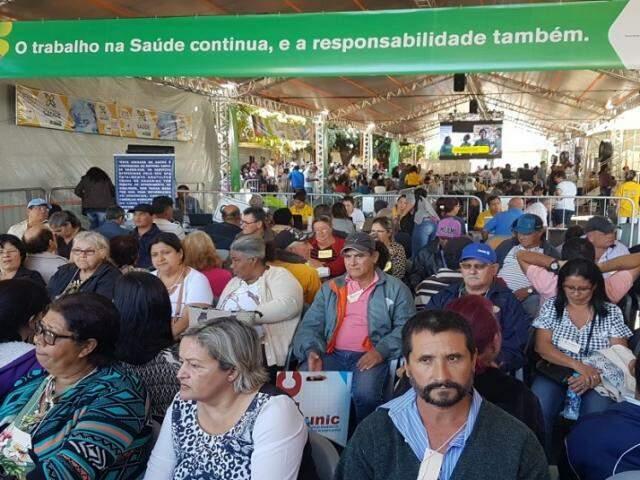Caravana da Saúde segue até 5 de julho no HR, em Campo Grande. (Foto: Ricardo Minella/SES)