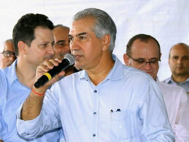 Governador Reinaldo Azambuja (PSDB) vai lançar programa de obras na Capital (Foto: Chico Ribeiro - Assessoria)