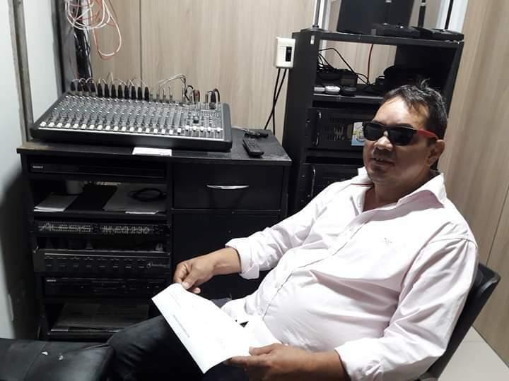 Luiz Carlos trabalhava como sonoplasta (Foto: Arquivo pessoal)