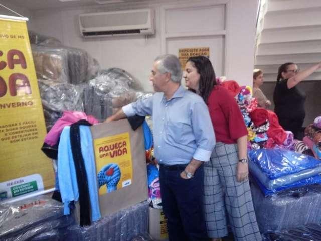 Governo mobiliza secretarias para chegar a 30 mil peças para doação