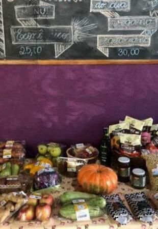 Opções para alimentação saudável todas às quintas-feiras na Alimentar Dietas (Foto: Arquivo pessoal)
