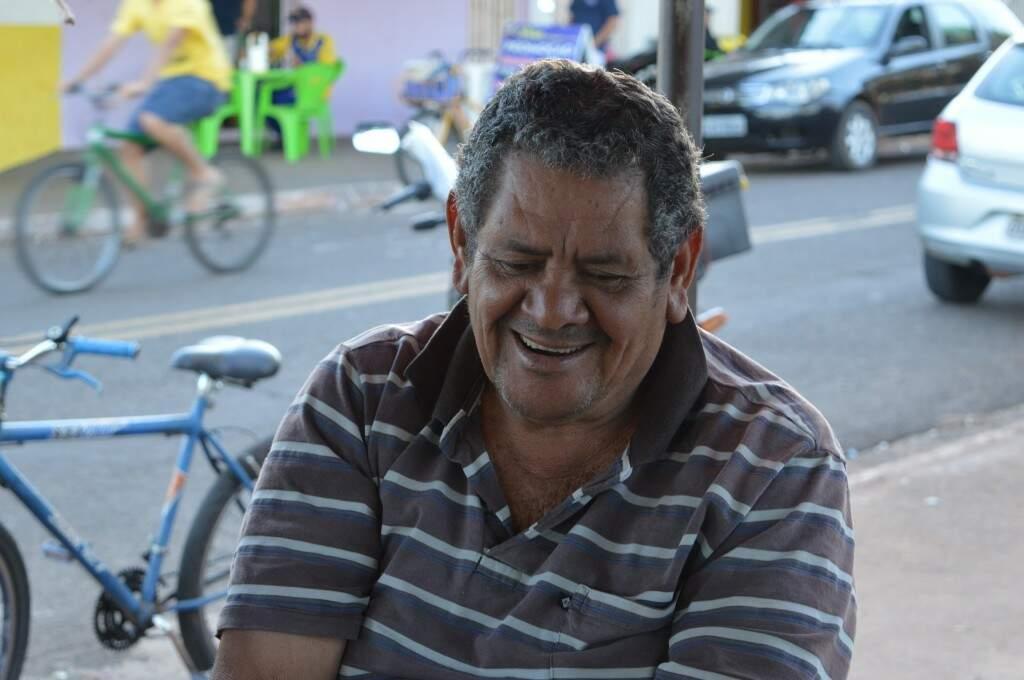 José, o amigo que adora fazer a turma sorrir. (Foto: Silas Souza)