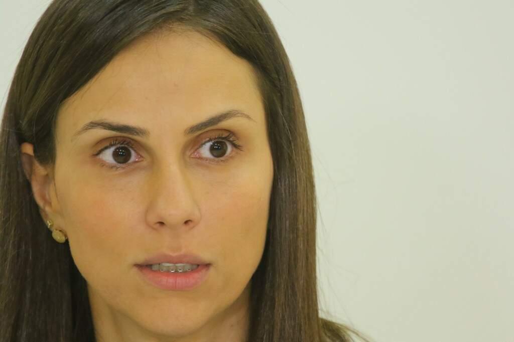 Delegada Ariene Nazareth responsável por investigar o caso (Foto: André Bittar)