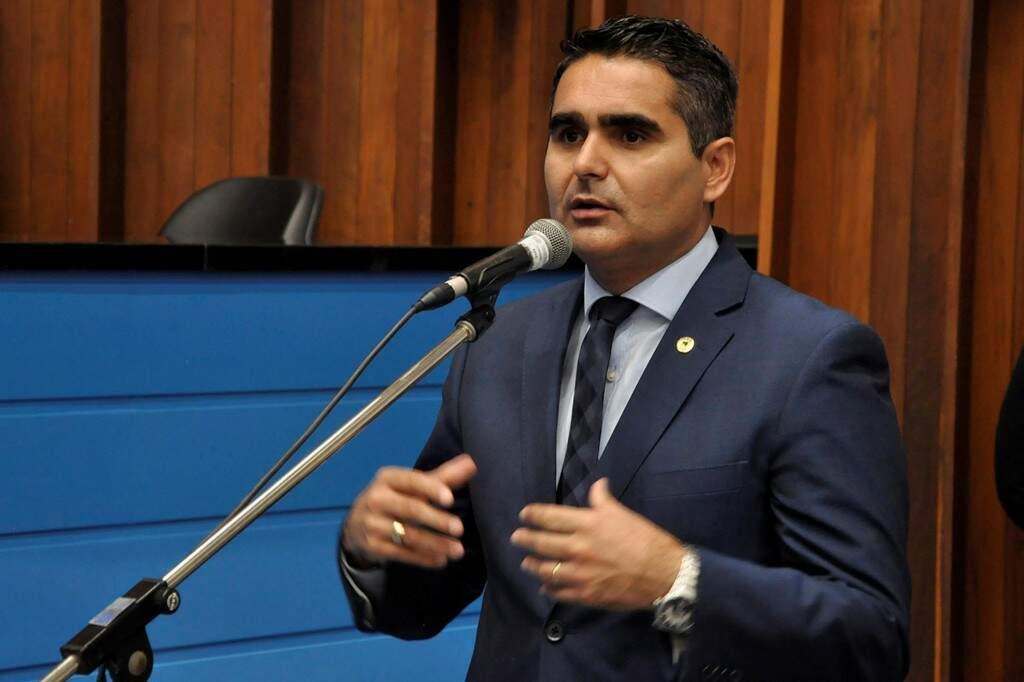Deputado Herculano Borges (SD) propôs audiência na Assembleia (Foto: Luciana Nassar/ALMS)