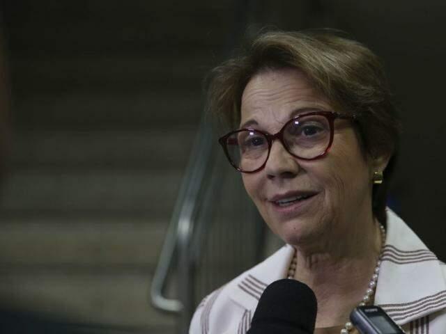 "Tereza Cristina defende fazendeiros e afirma que queimada ""tem todo ano"""