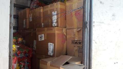 Polícia encontra 1,7 tonelada de maconha escondida em carga de salgadinhos