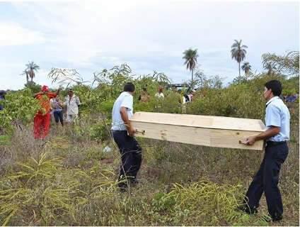 Jovem é encontrada morta com sinais de violência sexual em Ladário