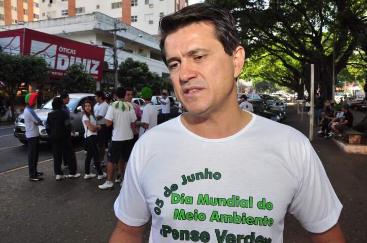 Superintendente do Ibama defende desmatamento zero no Pantanal. (Foto: João Garrigó)