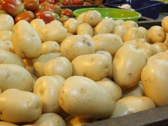 Com alta superior a 50% em dezembro, batata ajudou a pressionar índice de inflação no último mês. (Foto: Arquivo)