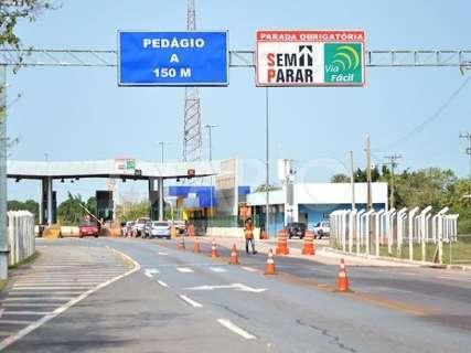 Pedágio da ponte no Rio Paraguai terá reajuste de 7% em janeiro