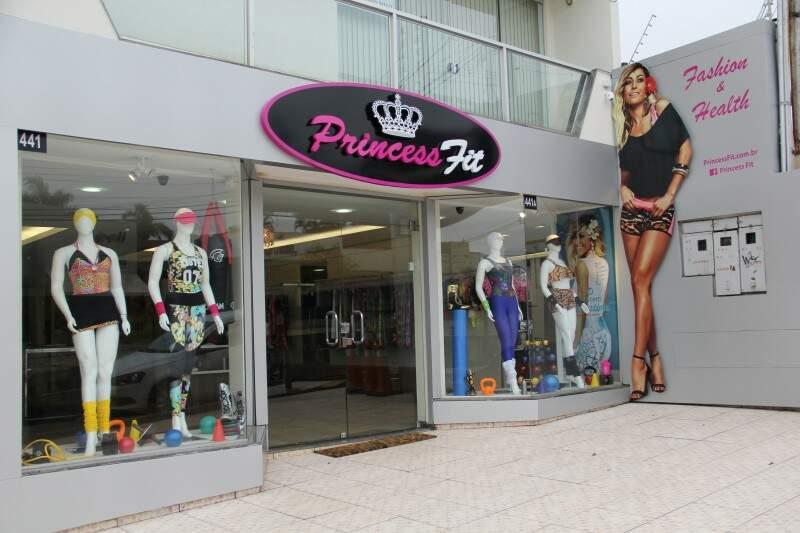 PrincessFit fica na Rua Euclides da Cunha. (Foto: Marcos Ermínio)