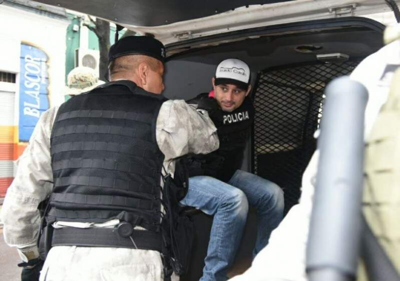 Vilmar Acosta, o Neneco, vai ficar preso na penitenciária de Tacumbú, em Assunção (Foto: ABC Color)