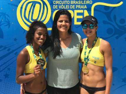 MS contará com 6 duplas na 1ª etapa do Brasileiro sub-21 de vôlei de praia