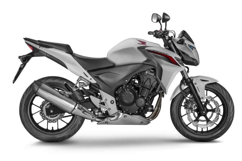Honda traz novas cores e grafismos para modelos da família 500cc