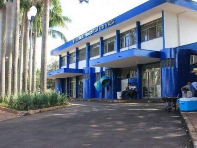 Fachada do Hospital da Vida em Dourados. (Foto: Rio Brilhante em Tempo Real)