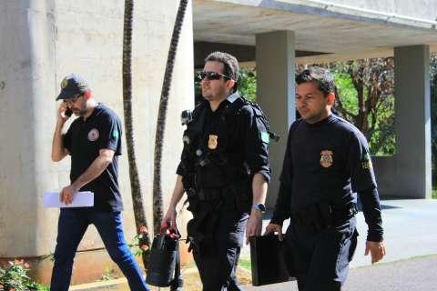 Procurador acompanha buscas da Polícia Federal na secretaria de Fazenda