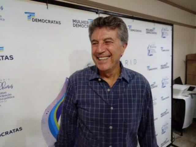 Presidente regional do DEM, o vice-governador Murilo Zauith (Foto: Leonardo Rocha)