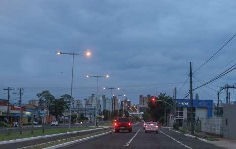 Último dia de 2018 amanhece com tempo nublado e previsão é de chuva a tarde