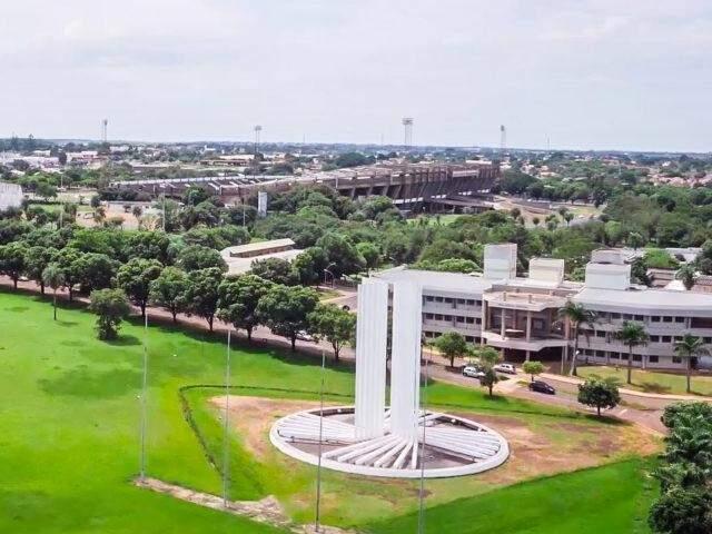 Campus da unidade em Campo Grande. (Foto: Divulgação)
