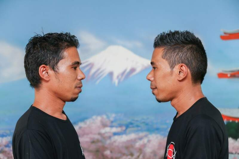 As diferenças ficam só a cargo do corte de cabelo e barba (Foto: Fernando Antunes)