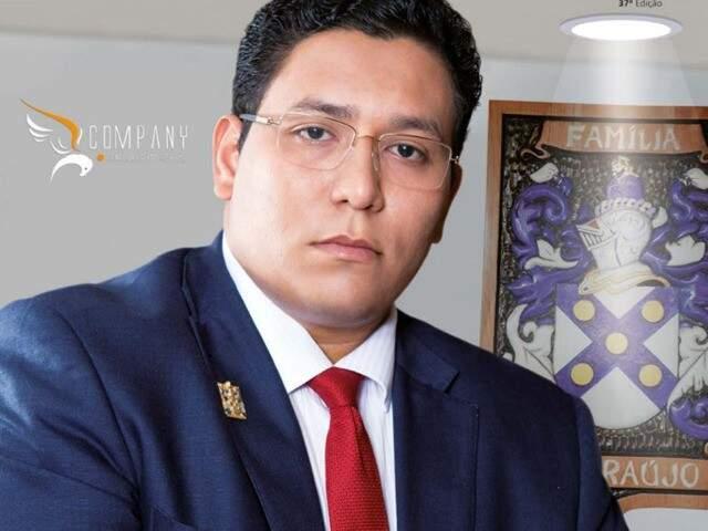 Celso Éder Gonzaga de Araújo (Foto: Revista Al.so)