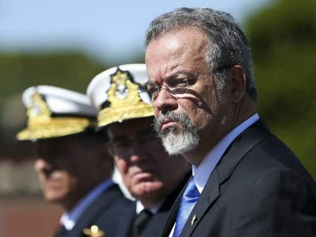 O ministro da Defesa Raul Jungmann revelou, em Boa Vista, possibilidade de envio de migrantes para Mato Grosso do Sul (Foto: Marcelo Camargo/Agência Brasil)