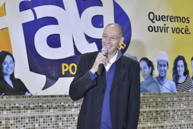 Hélio Peluffo volta a ser candidato após perder eleição em 2012 (Foto: Divulgação)