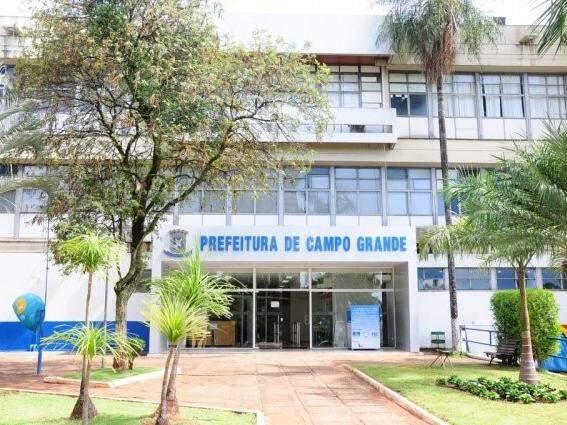 Sede da Prefeitura de Campo Grande (Foto: Paulo Francis)
