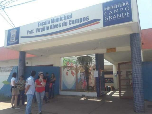 Na Mata do Jacinto, escola recebeu eleitores que relataram problemas no primeiro turno. (Foto: Izabela Sanchez)